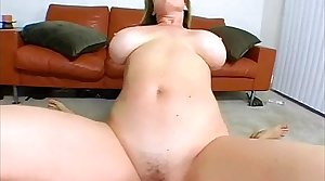 Blonde MILF thither POV