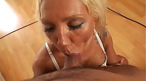 Slut bulgarian milf in dirty and discreditable porn video