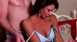 Leader hot MILF with sexy tan lines loves everywhere light of one's life