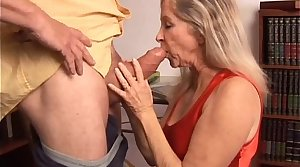 Beautiful mature blonde has a not roundabout sexy body and is a hot fuck
