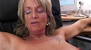 Mature Blonde Bigwig Fucks An Seeker
