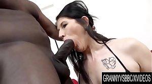 Granny Vs BBC - Adult Slut Niky Has Her Ass Pumped Full of Black Seed