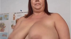 Super sexy big tits matured BBW fucks say no to soaking wet pussy