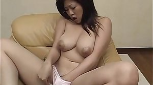 Mature Nana enjoys warm masturbation