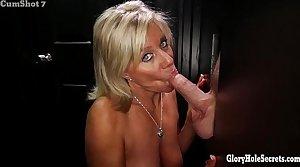 Gloryhole Secrets Mature blonde shows off her lifetime of skill