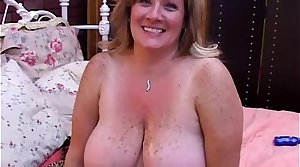 Beautiful mature BBW Deedra enjoys cum all over will not hear of big tits