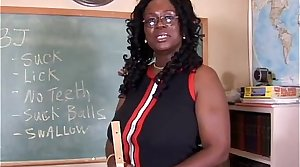 Sexy matured black teacher fucks the brush juicy pussy be beneficial to you