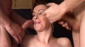 Two hot milfs be useful to two simmering cocks!