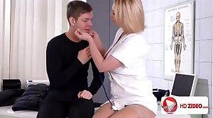 Hot milf Nurse threesomes
