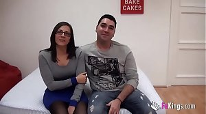 Young Spains couple sells their intimacy relating to and fucks for a difficulty cameras for a difficulty first stage