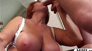 Older big tit granny fucked - www.Milf3.com