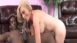 Young Black Fills Hot Cougar