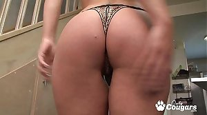 Sexy French MILF Cristale Rock Has Her Butthole Fucked
