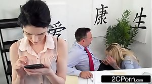 Busty Cougar Boss Ryan Conner Fucks Her Staff member
