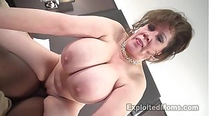 Cougar Does First Interracial Disgraceful Cock Video