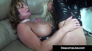 Role Play by Sexy Gyrate Woman Milf Deauxma Ends In 3 Way Fuck!
