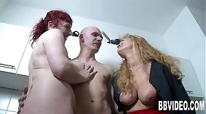 German milfs drag inflate added to fuck a big shaft