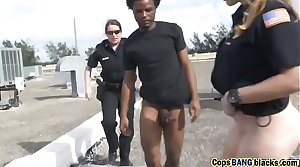 Two Hot Busty MILF Cops Arrested And Blackmailed a Young-our-asses-hd-72p-porn-1