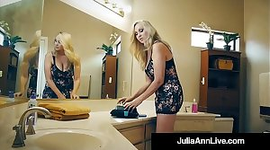 The Hottest Milf In Porn Julia Ann Bangs A Total Porn Newbie