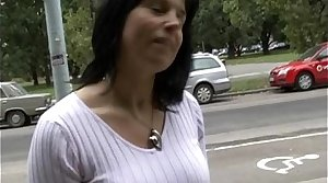 Cloudy Milf Lenka Gets Paid be advisable for Sex