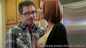 Veronica Avluv gets fucked by say no to stepson