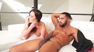 Kendra Lust the briny deep loves that black load of shit