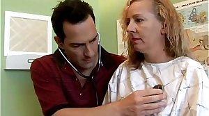 Putrid MILF patient fucks the doctor