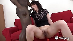 Claudie Dark Rams A Big Black Dick In Her Asshole