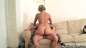 Hot mother roughly law enjoys cock riding