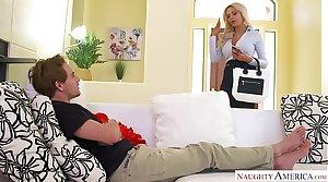 Big tits blonde MILF Nina Elle takes command - Noxious America