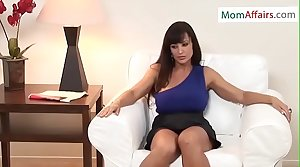 MomAffairs.com - Hot Milf Lisa Ann Enjoying Stepson Big Dick