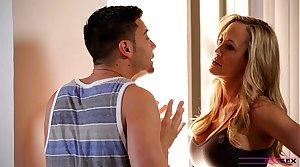 Moms Teach Sex - Ma teaches stepson how in lady-love