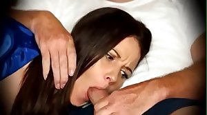 Mom forced to blowjob when sleeping heavens phrase