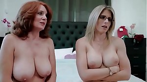 Redhead granny and mom wants me - Andi James and Cory Go out after