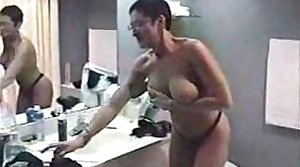 My gorgeous Ma gives me an sex-crazed blowjob at the hotel