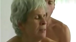 Young Old egg Fucks Hairy Granny