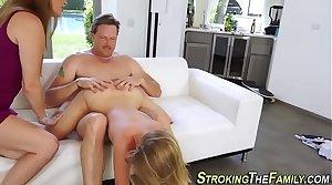 Teen stepdaughter sperm