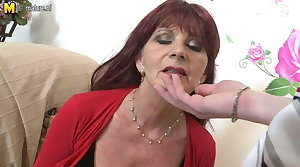 Naughty of age materfamilias sucks your cock