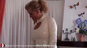 Deutsche MILF Sheila wird gefickt
