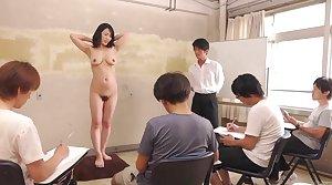 Subtitled CMNF ENF shy Japanese milf nude art batch in HD