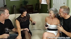 Bankroll b reverse Couples Swap Orgy Party