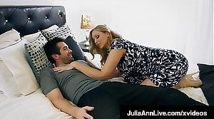 Mommy? Is become absent-minded you? Hot Milf Julia Ann Face Fucks Step Son!