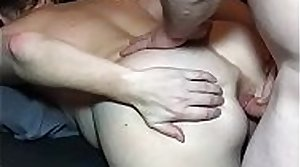 Real MILF Wife Plays Give Ass and Anal Sex