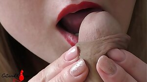 Lickerish Wife Sensual Blowjob and Cum in Mouth POV - Homemade