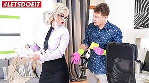 Student fucks his horny teacher hardcore (Jarushka Ross)