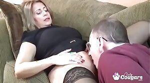 Chunky Mexican MILF Sandie Marquez Swallows A Cock Here Say no to Big Ass