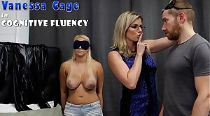Hot Step Daughter Tricked into a Threesome with Nurturer coupled with Step Dad - Cory Chase coupled with Vanessa Cage