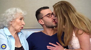 Taboo hot making love with moms and grannies