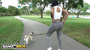 BANGBROS - Big Detect White Mendicant Goes Ham On Latina Diamond Kitty's Big Ass