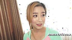 Korean porn floozy banged by roasting Japanese pervert